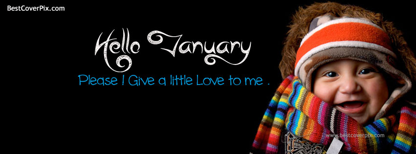 Cool Hello January Top Facebook Covers
