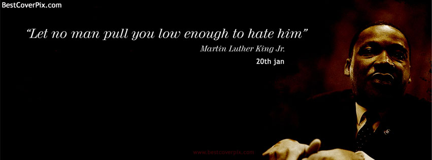 Facebook Covers for Martin Luther King Day | 20 January