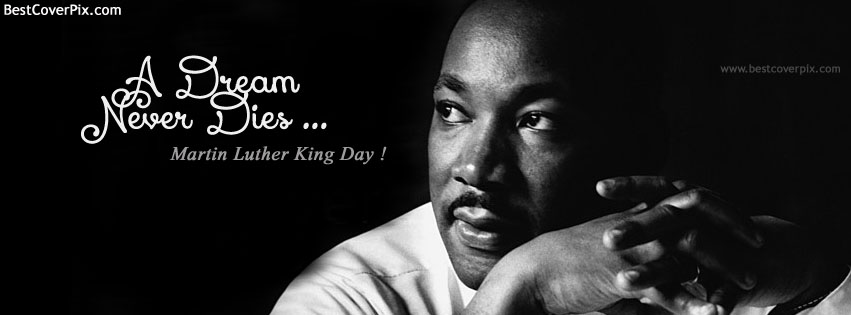 Martin Luther King Jr Day | 20 Jan | Best Cover Photo for Facebook Timeline
