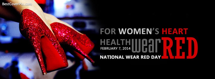 National Wear Red Day , Feb 7, 2014 Facebook Covers