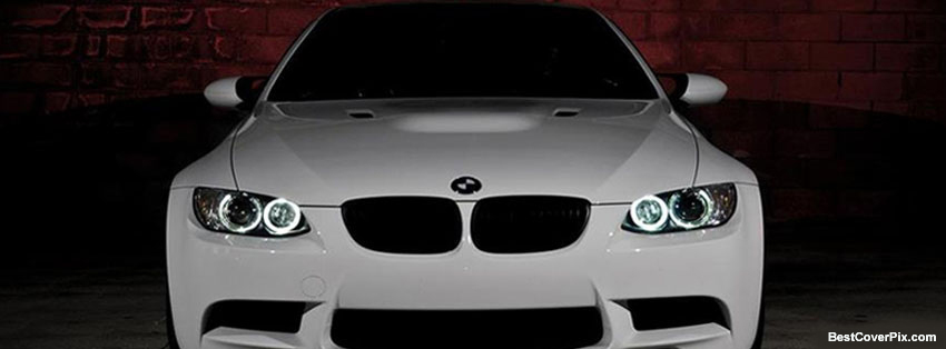 BMW Car in White FB Timeline Photos