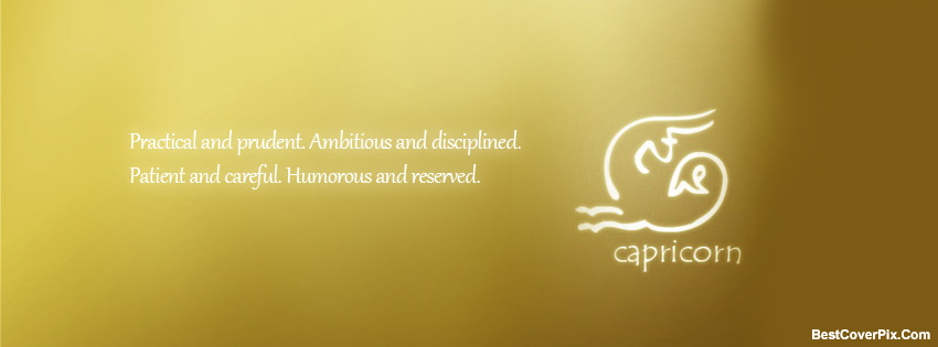 Zodiac Capricorn Facebook Covers