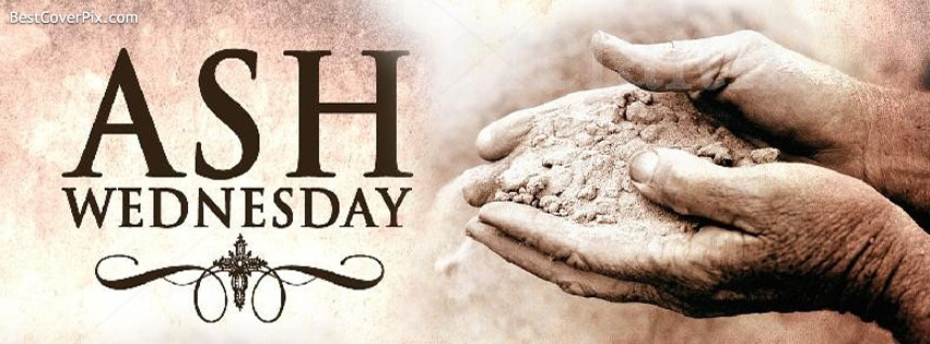 Ash Wednesday Facebook Profile Cover