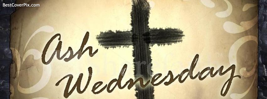 Ash Wednesday Facebook Timeline Cover