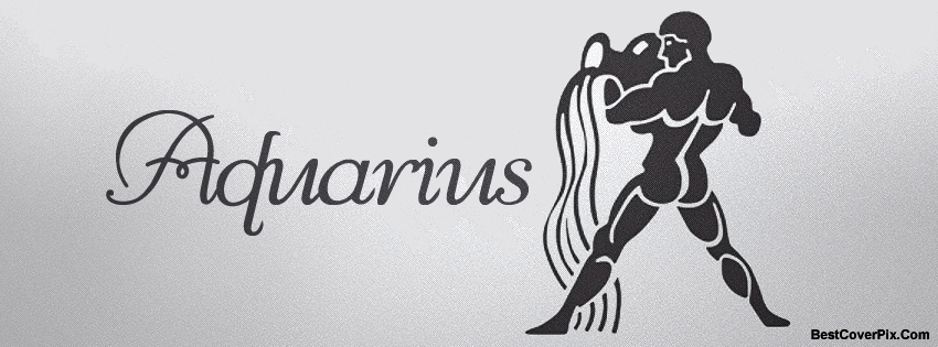 Aquarius Zodiac Facebook Covers – Horoscope FB Photos