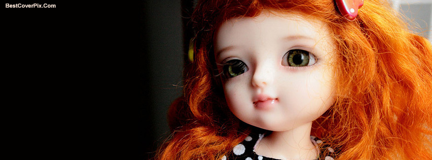Cute DOLLS Facebook Timeline Covers