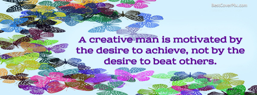 Motivational Quote Facebook Cover for Timeline