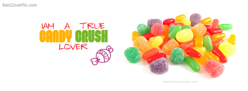 candy crush fb cover photo