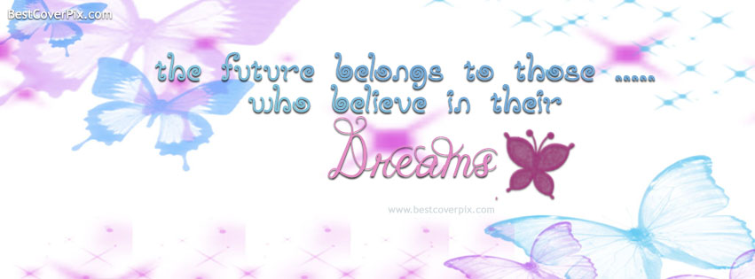 Best Dreams Quote Timeline Cover Photos