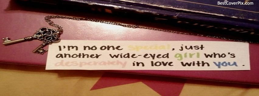 Girls Quote FB Cover Photo