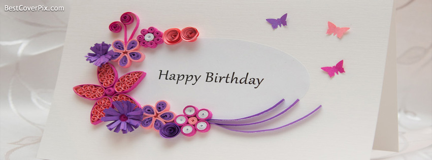 Happy Birthday Facebook Profile Cover Photo