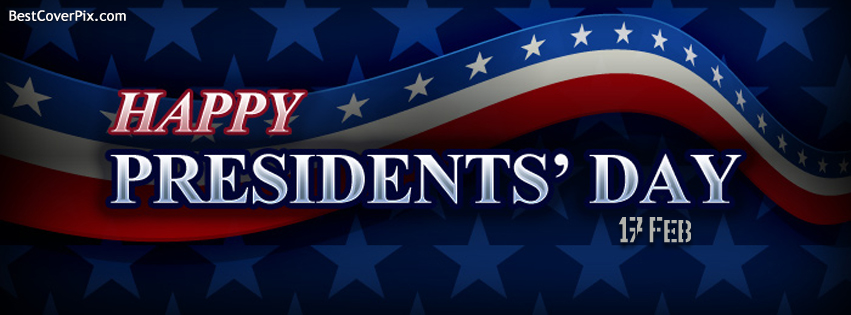 Happy Presidents Day , 17 feb 2014 Facebook Cover Photo