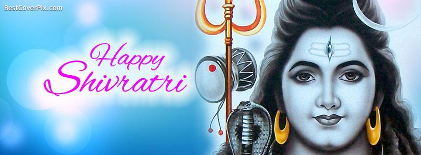 Happy Shivratri Facebook Cover Photo , 27th february