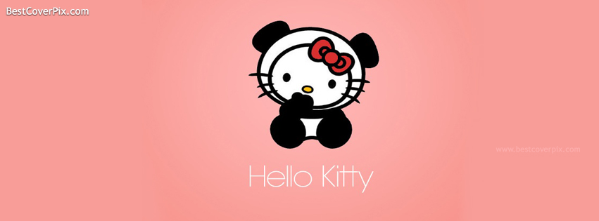 Hello Kitty | Cute Cartoons Facebook Cover for Timeline