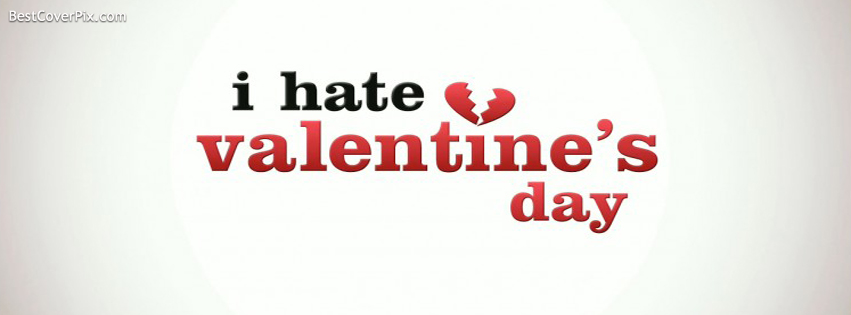 i hate valentine day cover