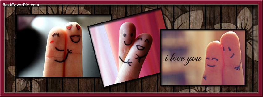 Many Moods Saying I LOVE YOU facebook Cover