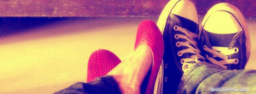 Best Couple Feets Facebook Cover Photo