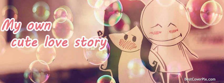 My Love Story Facebook Cover Photo