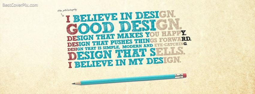 Design Quote Facebook Profile Cover Photo