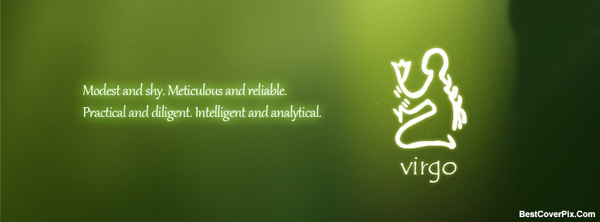 Virgo Horoscope Facebook Covers – Zodiac Virgo Photos