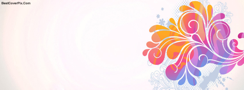 Art and Pattern Design Facebook timeline cover