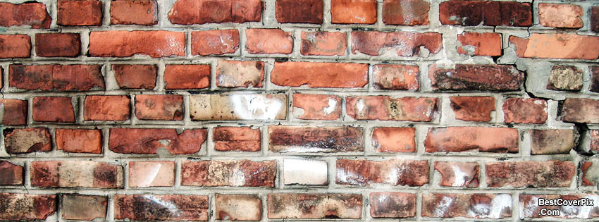 Pattern Facebook Covers – Bricks Texture Photos