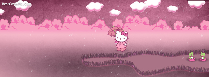 Hello Kitty Facebook Cover Photo