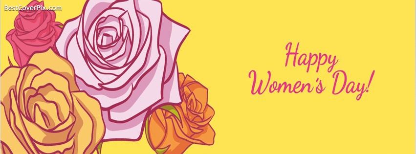 flowers womens day cover