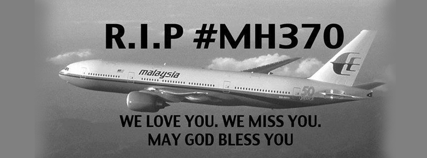 Malaysia Airlines MH 370 RIP – Facebook Cover Photos