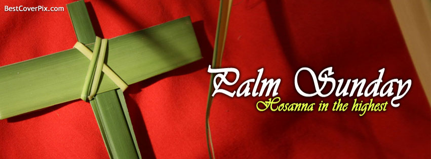 palm sunday fb cover