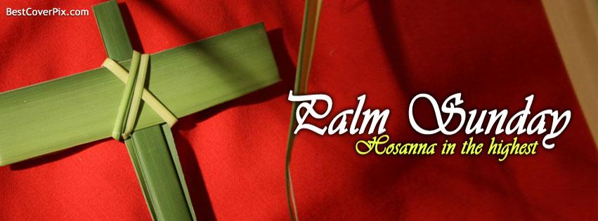 Palm Sunday Facebook profile Cover