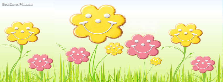 Cute Spring Facebook Profile Cover Photo