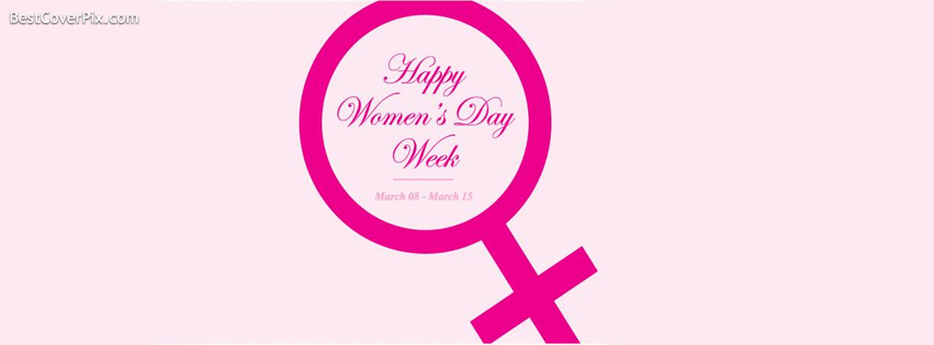Happy Womens Day Week Facebook Covers