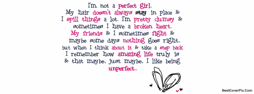 perfect girls facebook covers