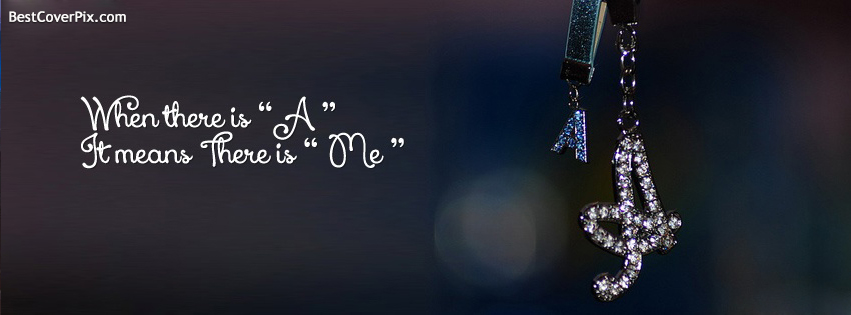 alphabet A fb cover photo