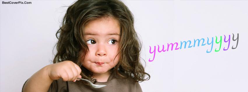 Cute Baby Girl Facebook Covers – Yummy Photos
