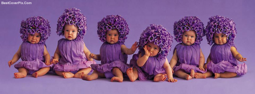 Cute Babies Emotional Faces Timeline Covers for Facebook