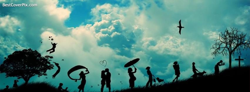 Enjoy Life Facebook Profile Cover Photo