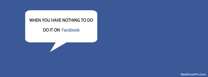 Funny Quote Special Facebook cover