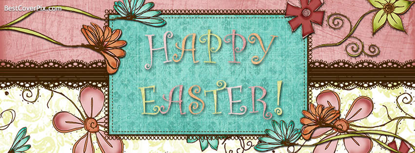Happy Easter Day 2014 Facebook Timeline Covers