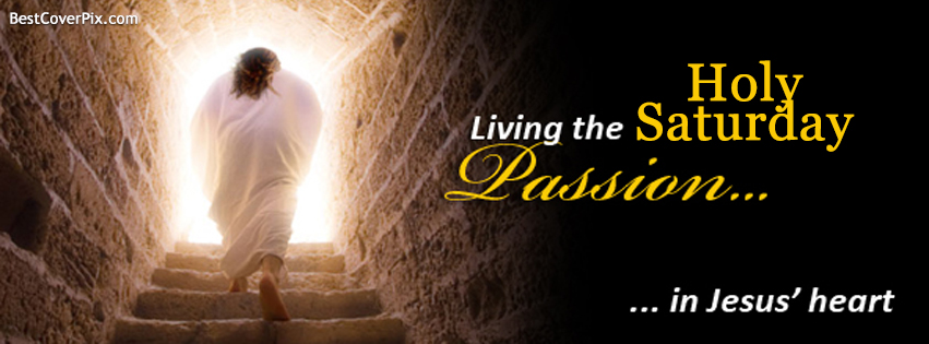 Holy Saturday Jesus Facebook Cover Photo