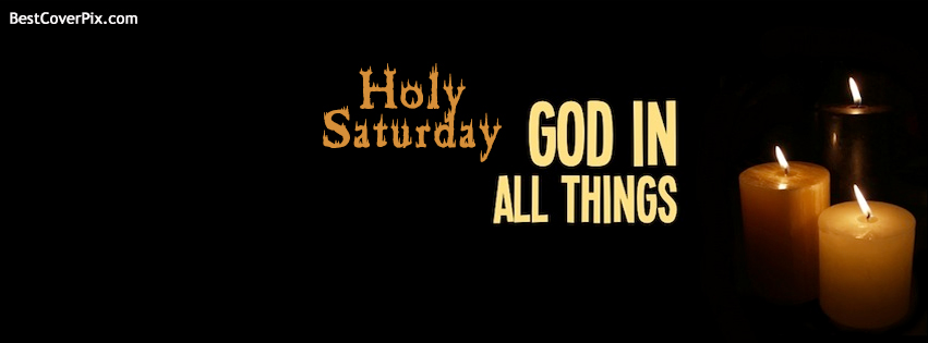holy saturday fb cover