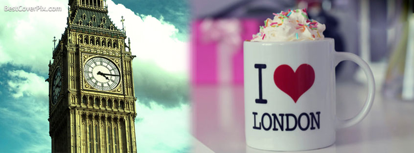 I Love London Facebook Cover Photo
