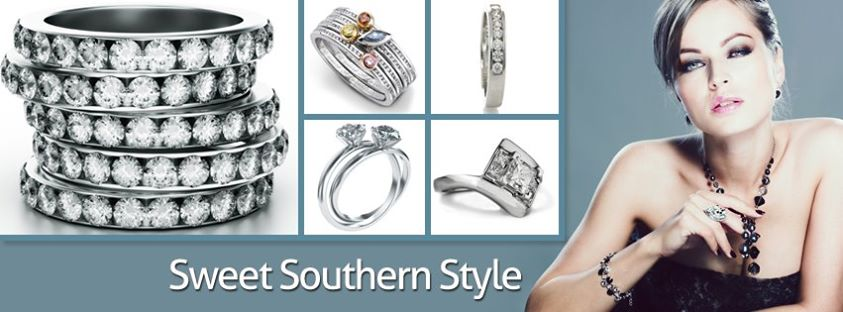 Jeweler business pages Facebook covers