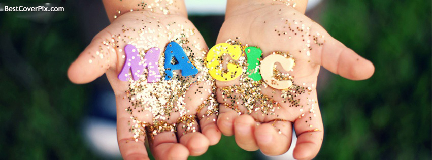 Magic in Hands Facebook Profile Cover Photo