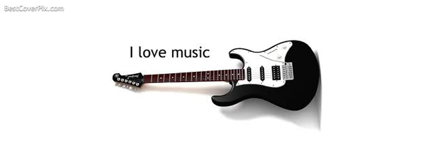 I Love Music FB Cover Photo for Timeline