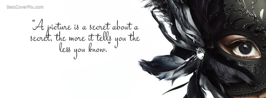 Secret Quotes Facebook Profile Cover Photo