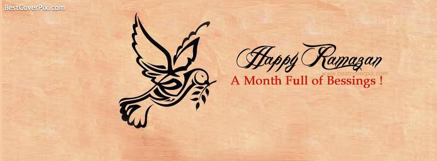 2014 Happy Ramazan Facebook Cover Photo