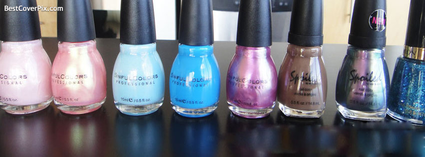 Nailed Polish Cosmetics Facebook Covers – Fashion Timeline Pictures For Girls
