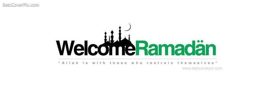 Welcome Ramadan Facebook Timeline Cover Photo